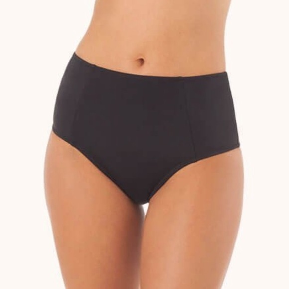 Lively Other - Lively The High Waist Swim Bottoms - Jet Black
